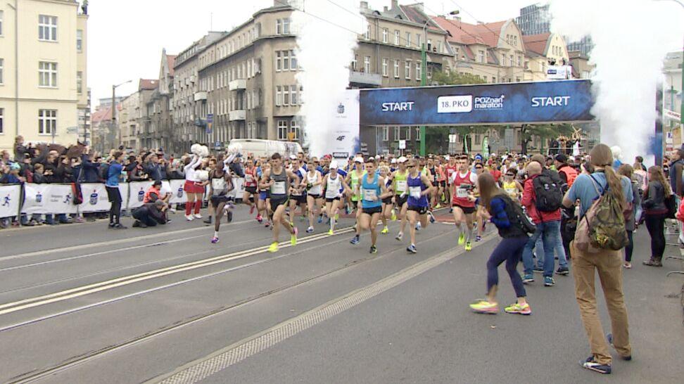 Poślizg maratonu.