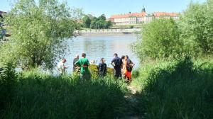 Przy moście Śląsko-Dąbrowskim wyłowiono zwłoki