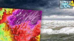 Wichura uderzy w wybrzeże