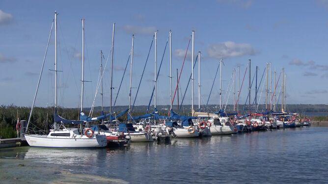 Perła zachodniopomorskich marin - Lubczyna