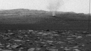 Diabełki pyłowe na Marsie. NASA pokazuje nagranie