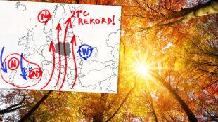 """""""Ciepło wbiło się na północ kontynentu"""". Cieszmy się nim, bo nie potrwa długo"""