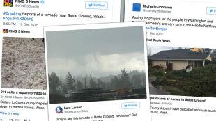 Tornado przeszło przez Waszyngton. To kolejna pogodowa katastrofa na północnym zachodzie