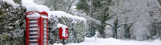 Śnieżyce suną na Wyspy. Przed weekendem spadnie 10 cm śniegu
