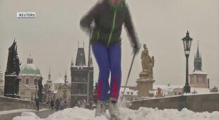 Śnieg w Czechach